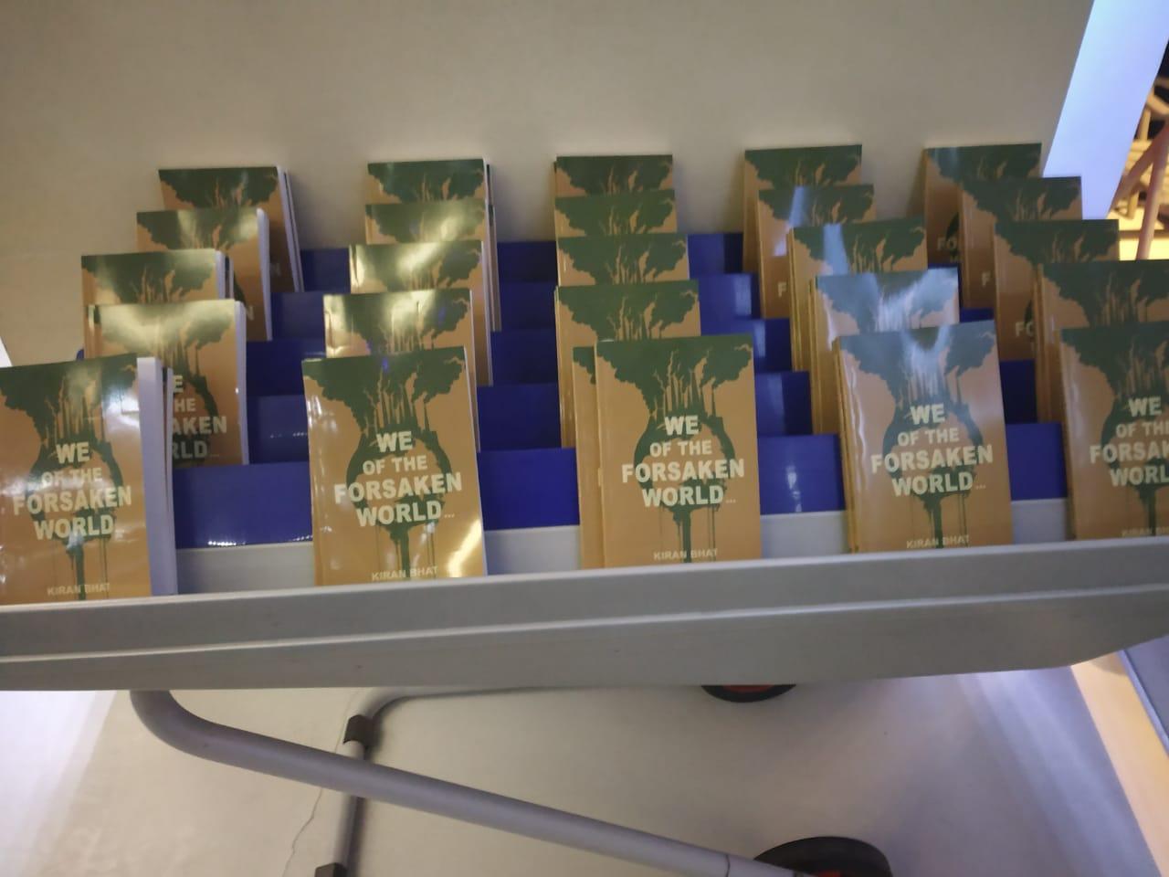 New Launch – We of the Forsaken World – Author Kiran Bhat